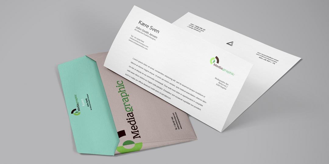Kuvertering, adressering og forsendelse